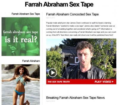http://farrahabrahamsextape.com/